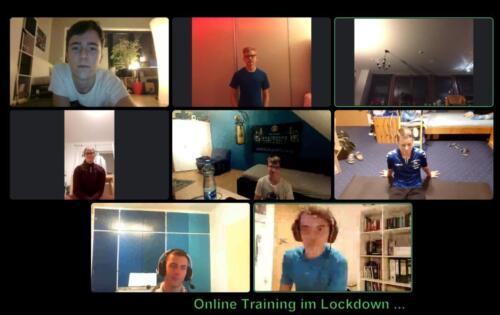 Online Training im Lockdown